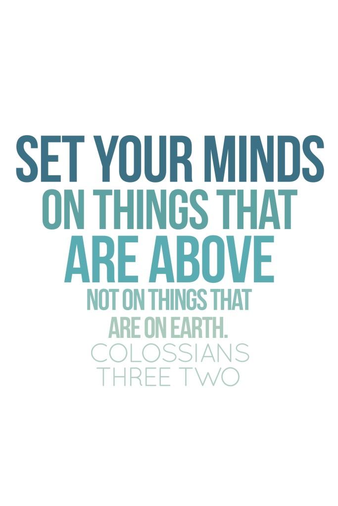 colossians3:2