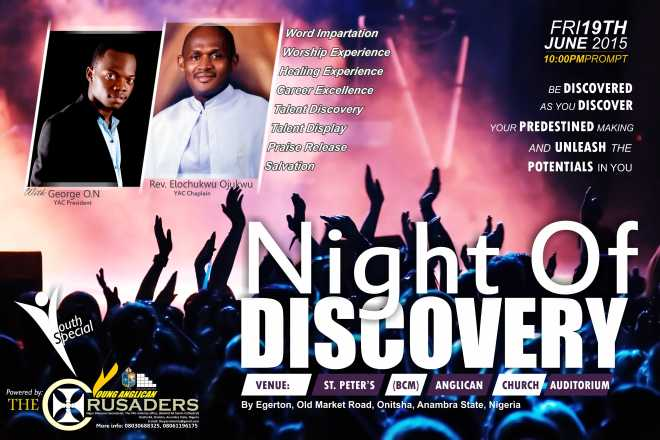 NIGHT OF DISCOVERY