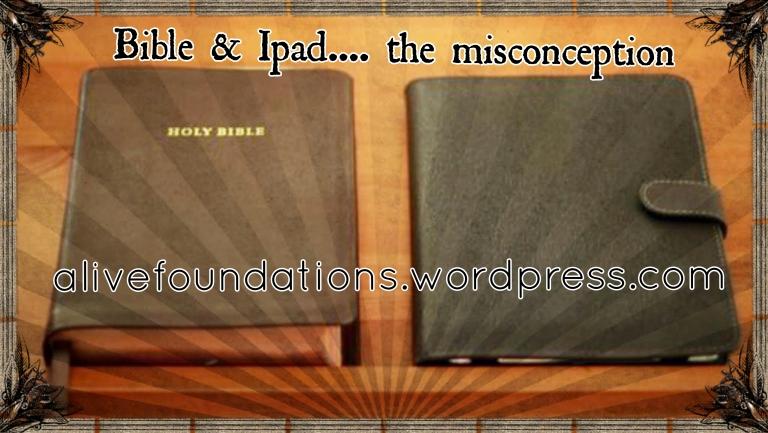 Bible and Ipad