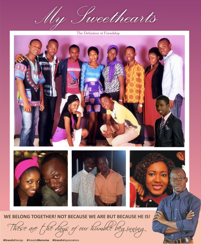 Some members of Amazing Grace YAC in 2013