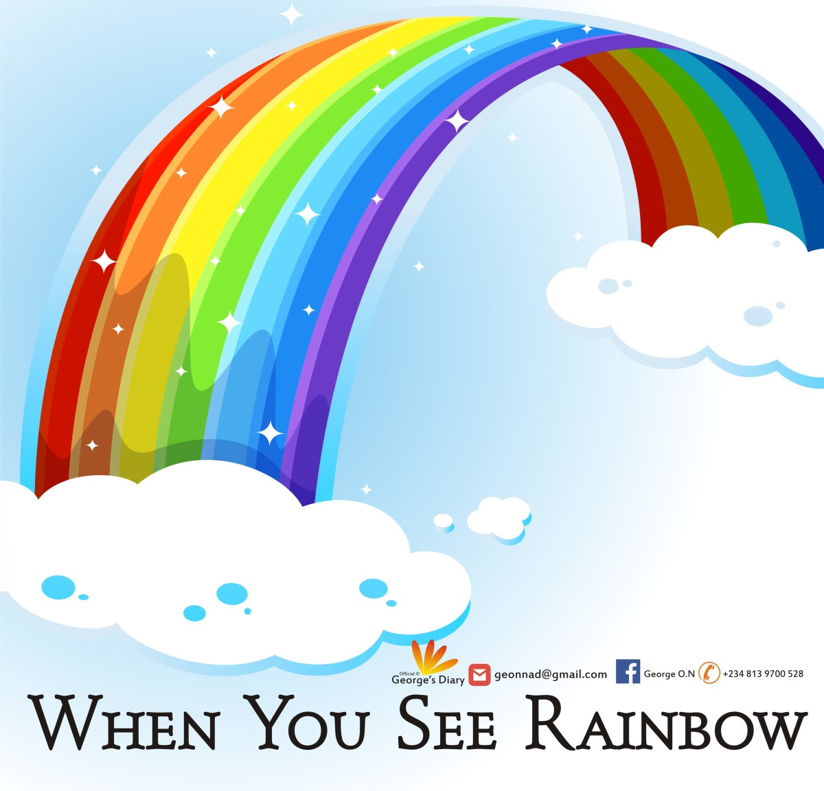 WHEN YOU SEE RAINBOW: Lessons from Noah