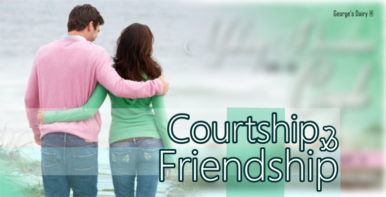 is there a difference between courting and dating