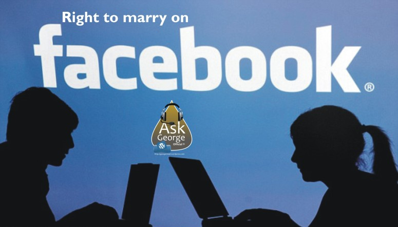 right to marry on facebook
