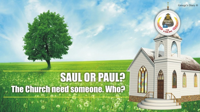 SAUL OR PAUL