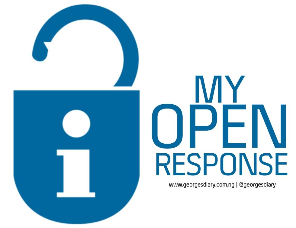 MY OPEN RESPONSE