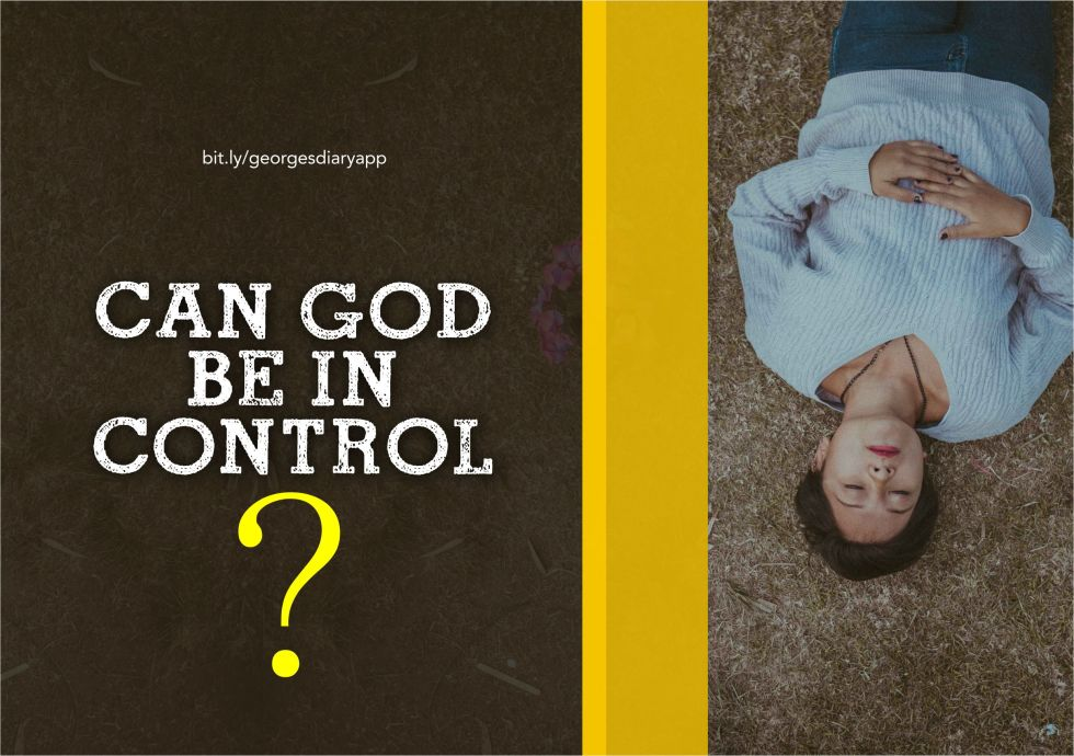 Can God be in control