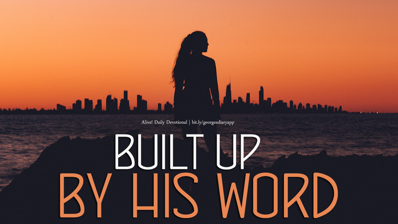 Built by His word