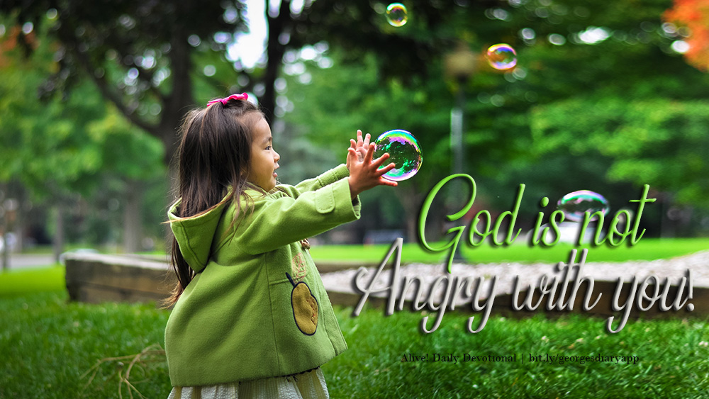 God is not angry