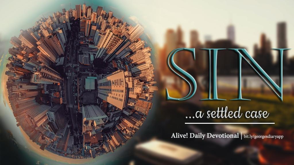 Sin; a settled case