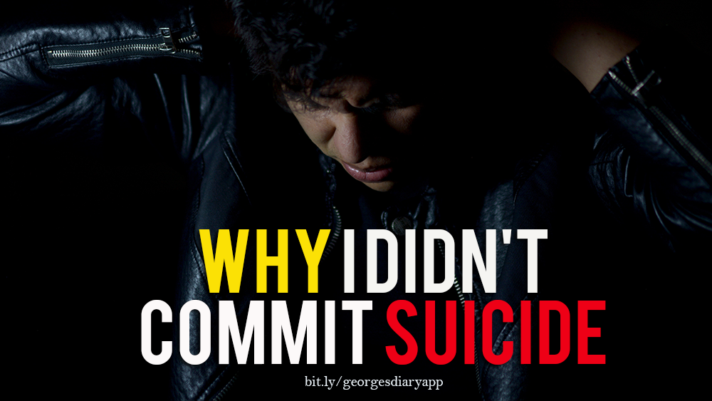 Why I didn't commit suicide by George Onyedika Nnadozie