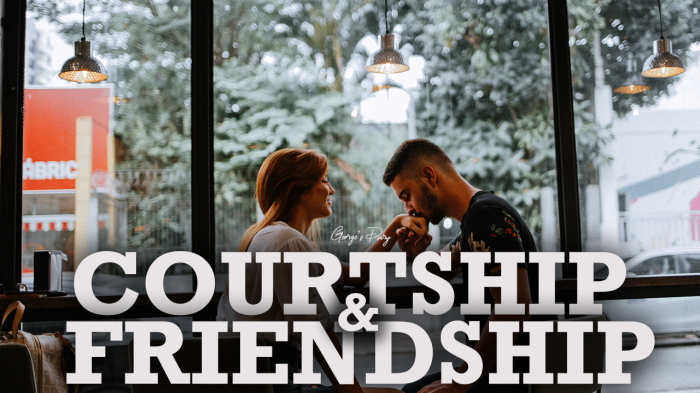 Courtship and Friendship
