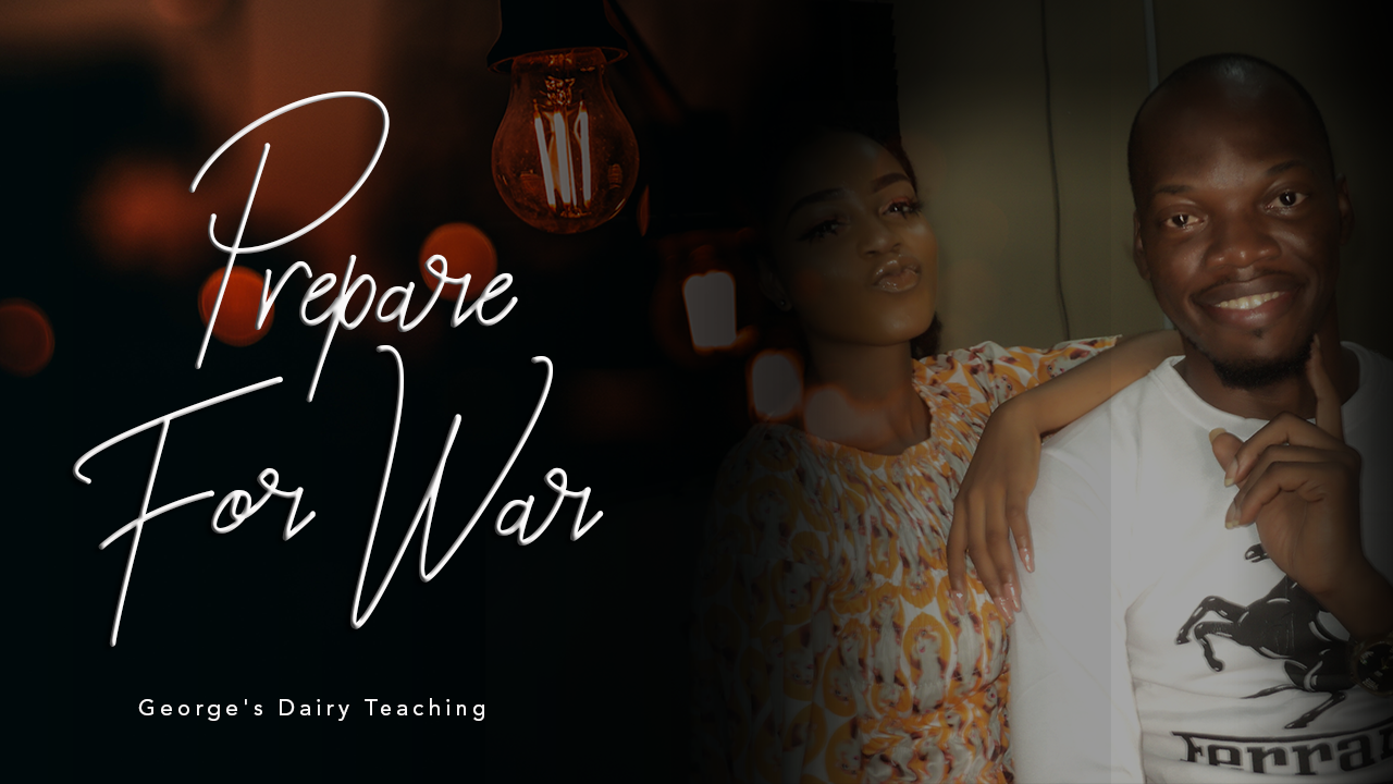 PREPARE FOR WAR | As you stand for something.