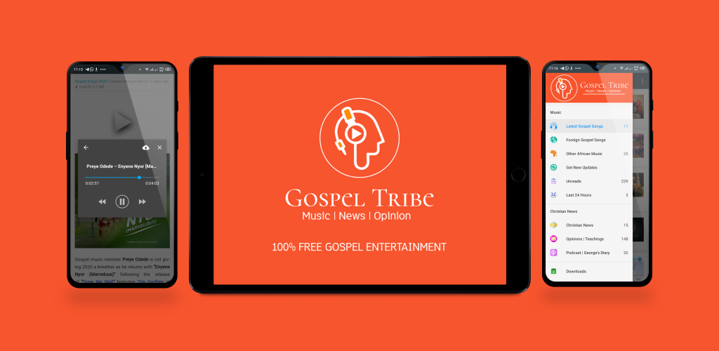 Header image for Gospel Tribe app